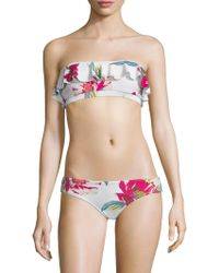6 Shore Road By Pooja - Flora Bikini Top - Lyst