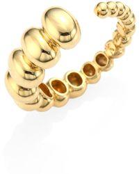 Nikos Koulis - Spectrum 18k Yellow Gold Ring - Lyst
