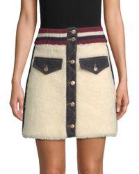 Tommy Hilfiger - Winter Denim Mini Skirt - Lyst