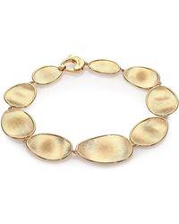 Marco Bicego - Lunaria 18k Yellow Gold Bracelet - Lyst