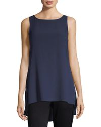 Eileen Fisher - System Bateau Neck Top - Lyst