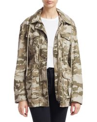 ATM - Stretch Camo Jacket - Lyst