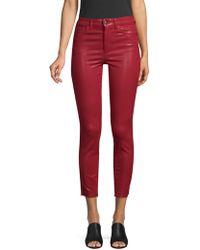 Joe's - Charlie Coated Skinny Jeans - Lyst