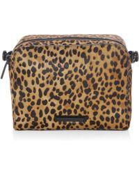 Kendall + Kylie | Lucy Leopard Leather Handbag | Lyst