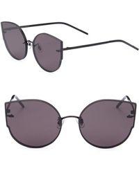 601de6d5870be Gentle Monster - Black Peter 55mm Cat Eye Sunglasses - Lyst