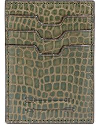Uri Minkoff - Textured Leather Card Case - Lyst