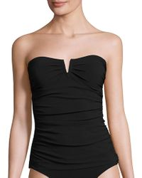 Shan | Bright Like A Diamond Ruched Tankini | Lyst