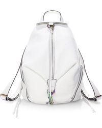 Rebecca Minkoff | Julian Pebbled Leather Backpack | Lyst