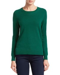 Saks Fifth Avenue - Collection Cashmere Roundneck Sweater - Lyst
