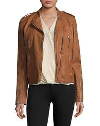 Rag & Bone - Lyon Leather Jacket - Lyst