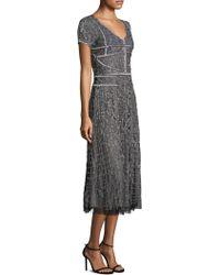 Parker Black - Shannon Midi Dress - Lyst