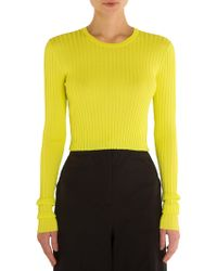 Emilio Pucci - Ribbed Knit Top - Lyst