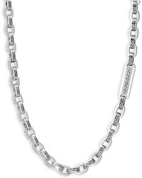 John Hardy - Silver Classic Chain Necklace - Lyst