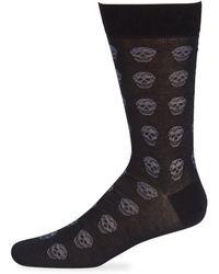 Alexander McQueen - Skull Socks - Lyst
