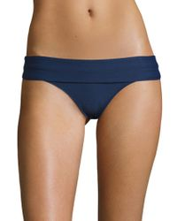 Heidi Klein - Fold-over Bikini Bottom - Lyst