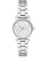 d4d3b6f46d7 Michael Kors - Petite Norie Stainless Steel Bracelet Watch - Lyst