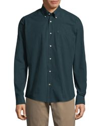 Barbour - Woven Cotton Casual Button-down Shirt - Lyst