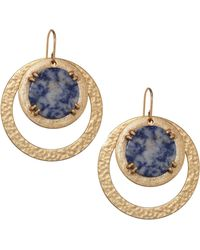 Stephanie Kantis - Paris Double Drop Earrings - Lyst