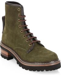 See By Chloé - Marta Lace-up Boots - Lyst