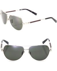 Shwood - 53mm Titanium & Ebony Sunglasses - Lyst
