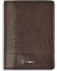 Shinola - Leather Boltcard Case - Lyst