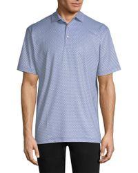 Peter Millar - Guitar Print Polo Shirt - Lyst