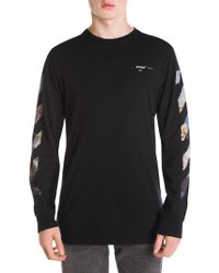 1618f908af5cb2 Lyst - Off-White c o Virgil Abloh Diagonal Gradient Long-sleeved ...