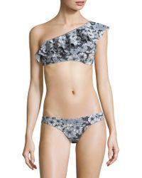 Lisa Marie Fernandez - Mira Floral Flounce Bikini Set - Lyst