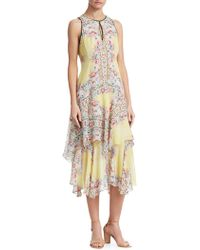Nanette Lepore - Canary Silk Dress - Lyst