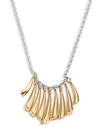 Charlotte Chesnais - Appala Two-tone Necklace - Lyst