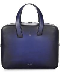 Corthay | Zip-up Leather Briefcase | Lyst