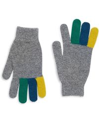 Paul Smith - Rib-knit Gloves - Lyst