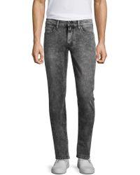 PAIGE - Lennox Acid Wash Slim-fit Jeans - Lyst
