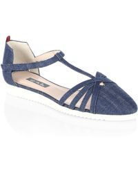 SJP by Sarah Jessica Parker - Meteor Carrie T-strap Flat - Lyst