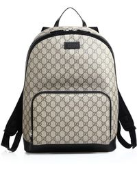 85d2bc231af7 Lyst - Gucci Nylon Gg Lightweight Backpack in Black for Men