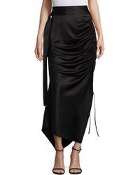 Solace London - Rosette Midi Skirt - Lyst