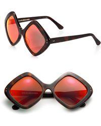 Cutler & Gross - 58mm Diamond Sunglasses - Lyst