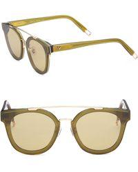 3d0bb794fed4 ... 45mm Cat Eye Sunglasses.  340. Saks Fifth Avenue · Gentle Monster - Tilda  Swinton X Newtonic 64mm Rounded Square Sunglasses - Lyst