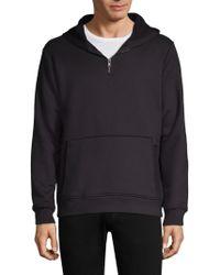 Twenty | Zipped Hooded Pullover | Lyst