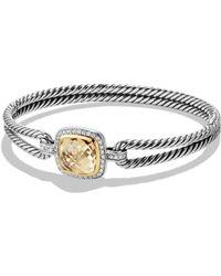 David Yurman - New Albion Bracelet With Diamonds - Lyst
