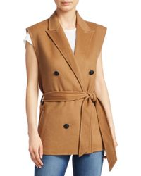 Rag & Bone - Pearson Double-breasted Vest - Lyst