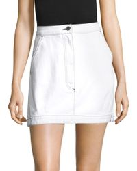 Public School - Paige Denim Skirt - Lyst