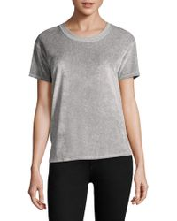 Feel The Piece - Roland Velvet Tee - Lyst