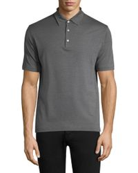 Isaia - Pelleovo Short-sleeve Shirt - Lyst