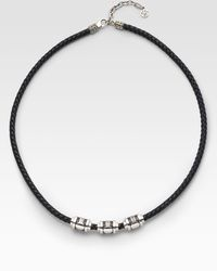 John Hardy - Beaded Cord Necklace - Lyst