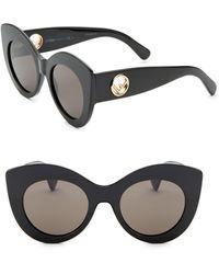 Fendi - 50mm Cat Eye Sunglasses - Lyst