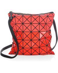 Bao Bao Issey Miyake - Prism Bi-texture Crossbody Bag - Lyst