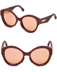 Roberto Cavalli - Oversized Injected Cat Eye Sunglasses/58mm - Lyst
