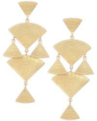 Elizabeth and James - Wren Drop Earrings - Lyst
