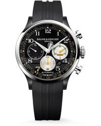 Baume & Mercier - Capeland Shelby® Cobra 10281 Limited Edition Stainless Steel & Rubber Strap Watch - Lyst